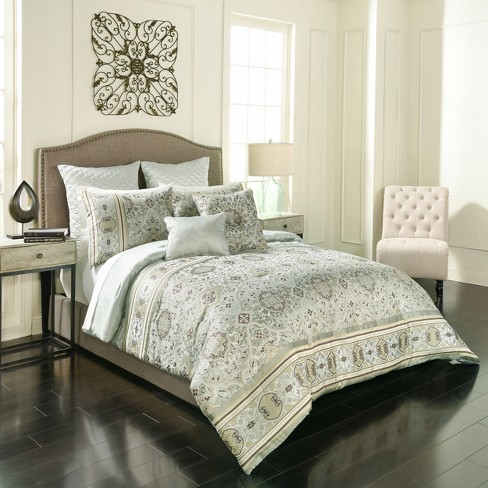 Sage Valencia Comforter Set 7pc - Vue - image 1 of 4