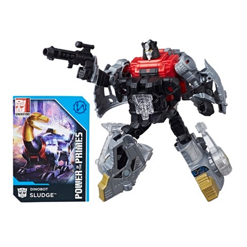 Transformers Generations Power of the Primes Deluxe Class Dinobot Sludge - image 1 of 4