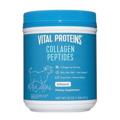 Vital Proteins Collagen Peptides Unflavored - 20oz