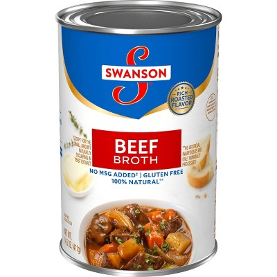 Swanson 100% Natural Beef Broth 14.5oz