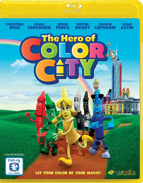 The Hero of Color City (Blu-ray) - image 1 of 1