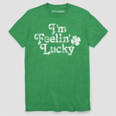 f6319aa71 Men's Short Sleeve I'm Feeling Lucky Graphic T-Shirt - Kelly Green. Shop  all Fifth Sun