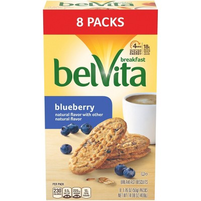 belVita Blueberry Breakfast Biscuits 8 packs