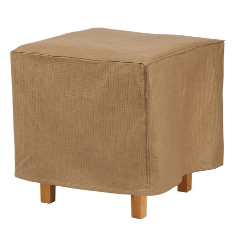 """22"""" Essential Square Ottoman/Side Table Cover - Duck Covers - image 1 of 3"""
