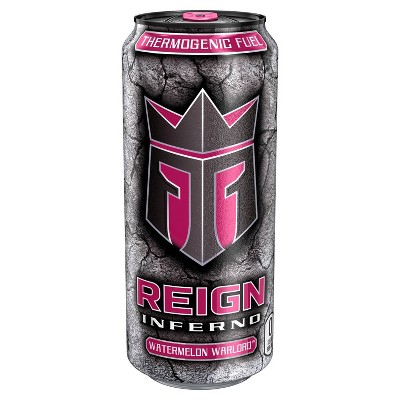Reign Inferno Watermelon Warlord Energy Drink - 16 fl oz Can