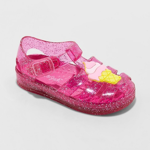 60b562cf9a60 Toddler Girls  Isha Embellished Jelly Fisherman Sandals - Cat   Jack™ Pink