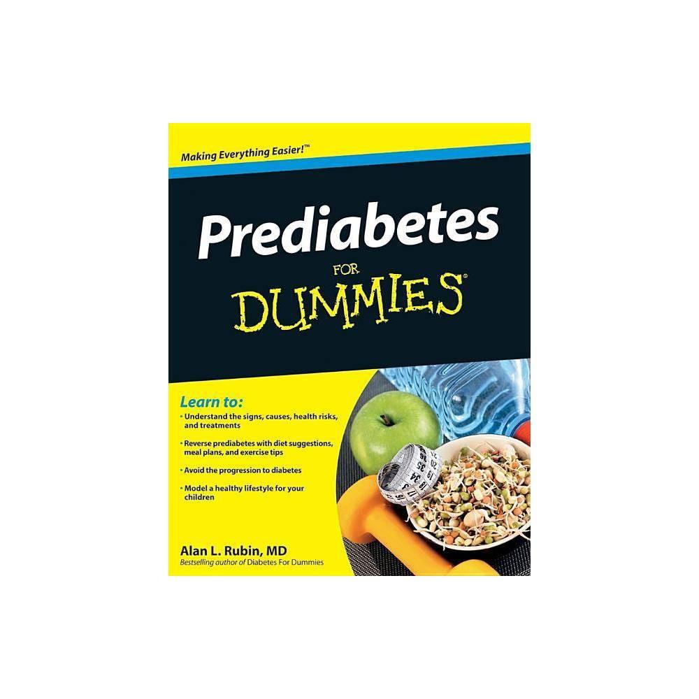 Prediabetes For Dummies For Dummies By Alan L Rubin Paperback
