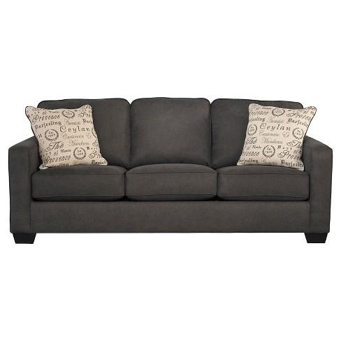 Swell Alenya Queen Sofa Sleeper Charcoal Signature Design By Ashley Download Free Architecture Designs Terchretrmadebymaigaardcom
