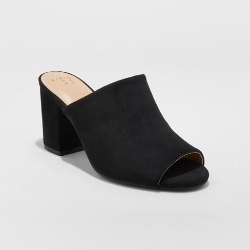 b4a6db77db51 Women s Didi Block Heel Mules - A New Day™   Target