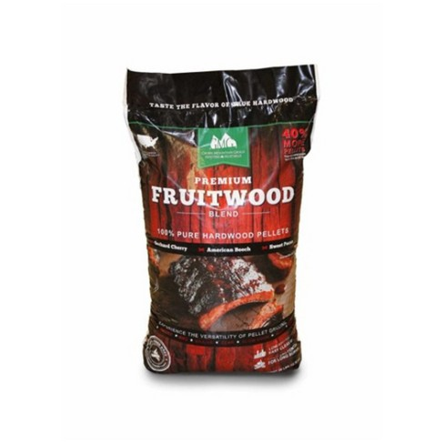 Green Mountain Grills Premium Fruitwood Pure Hardwood Grilling Cooking Pellets - image 1 of 4