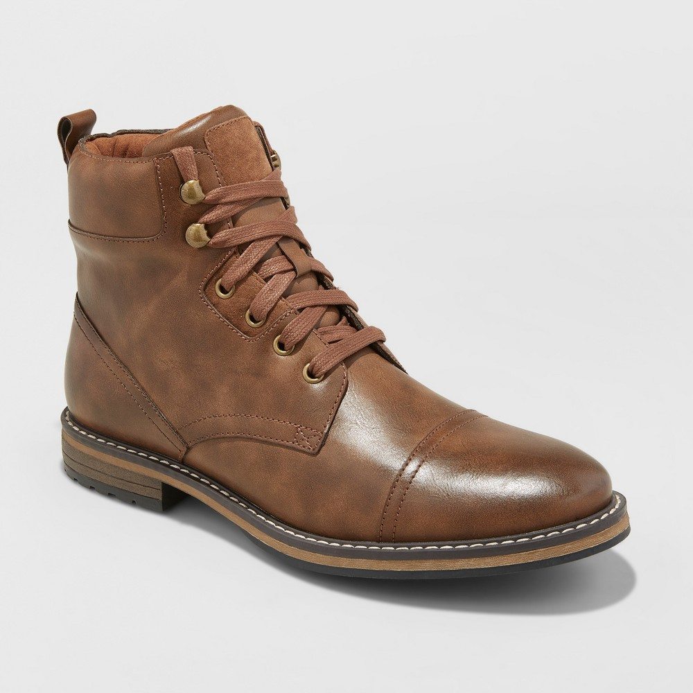 Men's Jeffery Casual Fashion Boots - Goodfellow & Co Brown 11