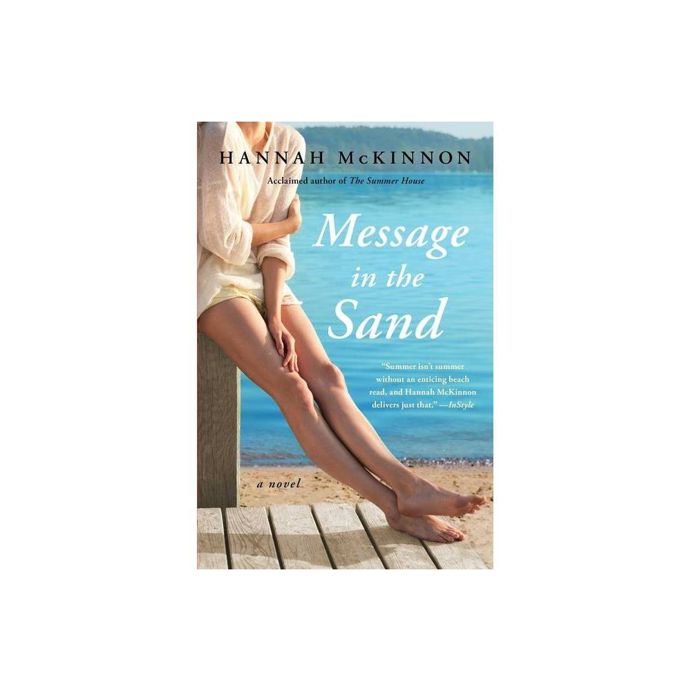 Message In The Sand By Hannah Mckinnon Paperback