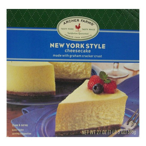 New York Style Cheesecake - 21oz - Archer Farms™ - image 1 of 1