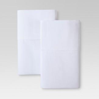 Ultra Soft Pillowcase Set (Standard) White 300 Thread Count - Threshold™
