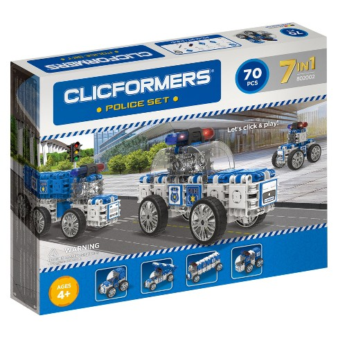 Clicformers Police Building Set - 70pc - image 1 of 2
