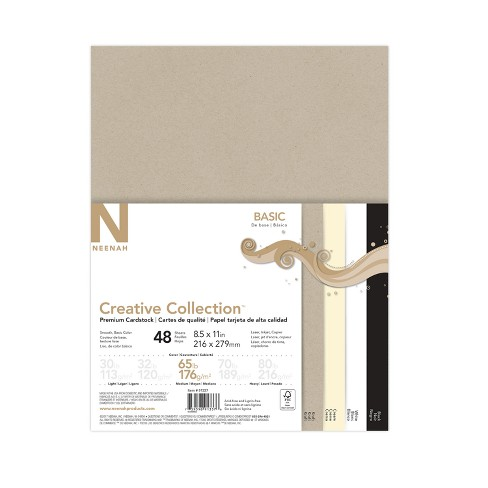 """48ct Cardstock 8.5"""" x 11"""" Multicolor - Creative Collection - image 1 of 3"""