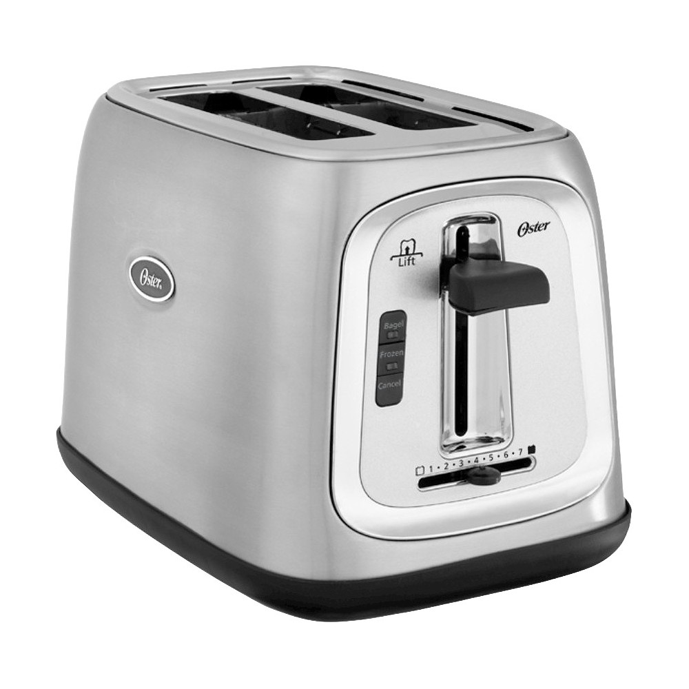 Oster 2 Slice Toaster – Brushed Stainless Steel TSSTTRJB29, Silver 15069782