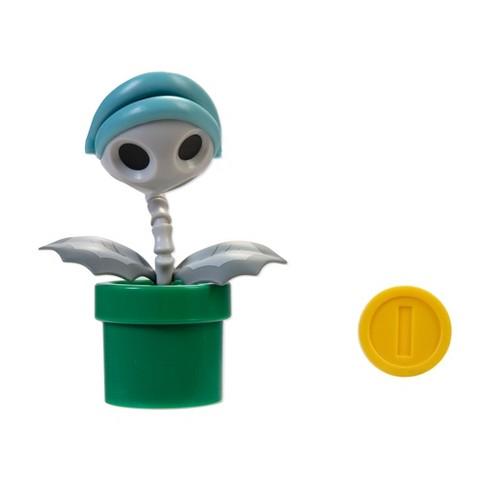 "Nintendo 4"" Bone Piranha Plant with Coin - image 1 of 4"