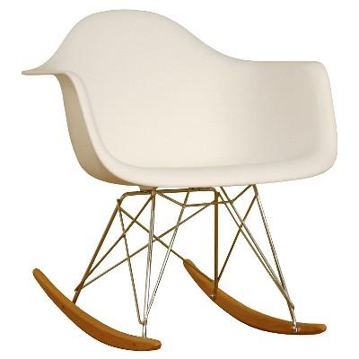Pleasing Plastic Rocking Chair White Baxton Studio Forskolin Free Trial Chair Design Images Forskolin Free Trialorg