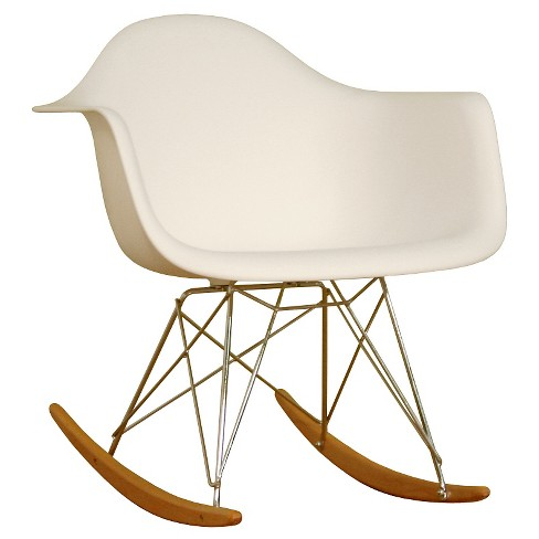 Surprising Plastic Rocking Chair White Baxton Studio Forskolin Free Trial Chair Design Images Forskolin Free Trialorg