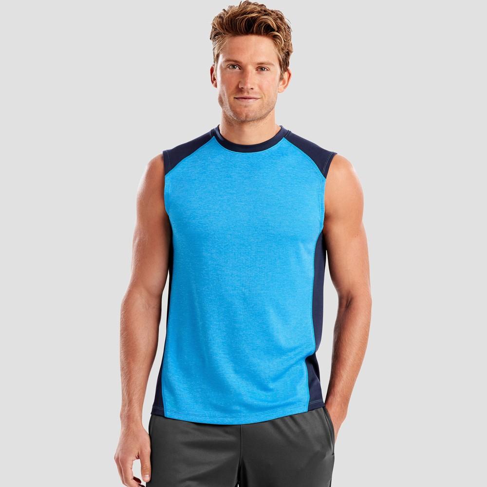 Hanes Men's Sport Performance Muscle T-Shirt - Hydro XL