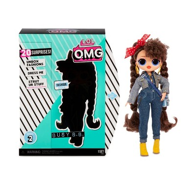L O L Surprise O M G Busy B B Fashion Doll With 20 Surprises Target