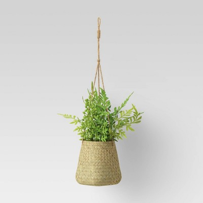 Grass Woven Base Hanging Planter - Threshold™
