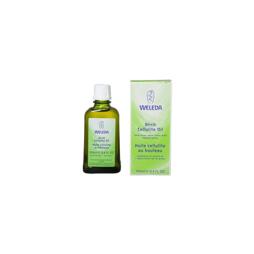 Weleda Birch Cellulite Oil - 3.4 oz.