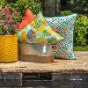 "18.5"" 2pk Hala Kahiki Tropic Throw Pillows Blue - Pillow Perfect - image 2 of 4"