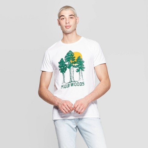c93edb668 Men's Short Sleeve Crewneck Nor Cal Muir Woods Graphic T-Shirt - Awake White