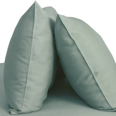 King 2pk 400 Thread Count 100% Rayon from Bamboo Resort Pillowcase Set Ocean Blue - Cariloha