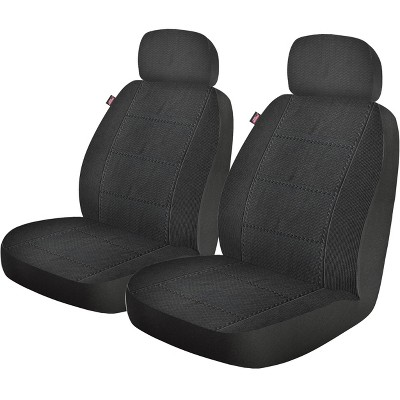 Dickies 2pc Custom LB Blair Seat Cover Automotive Interior Covers And Pads Black