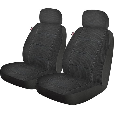 Dickies 2pc Custom LB Blair Seat Cover Automotive Interior Covers And Pads Black - image 1 of 4