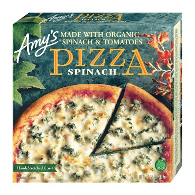 Amy's Frozen Spinach Pizza - 14oz