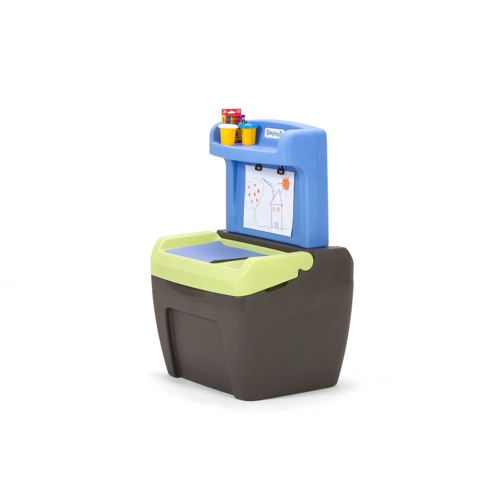Image of Toy Box Easel - Simplay3, Kids Desk