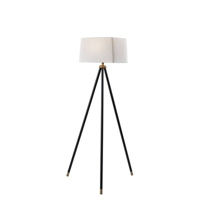 Beaumont Floor Lamp with Accent Black - Adesso