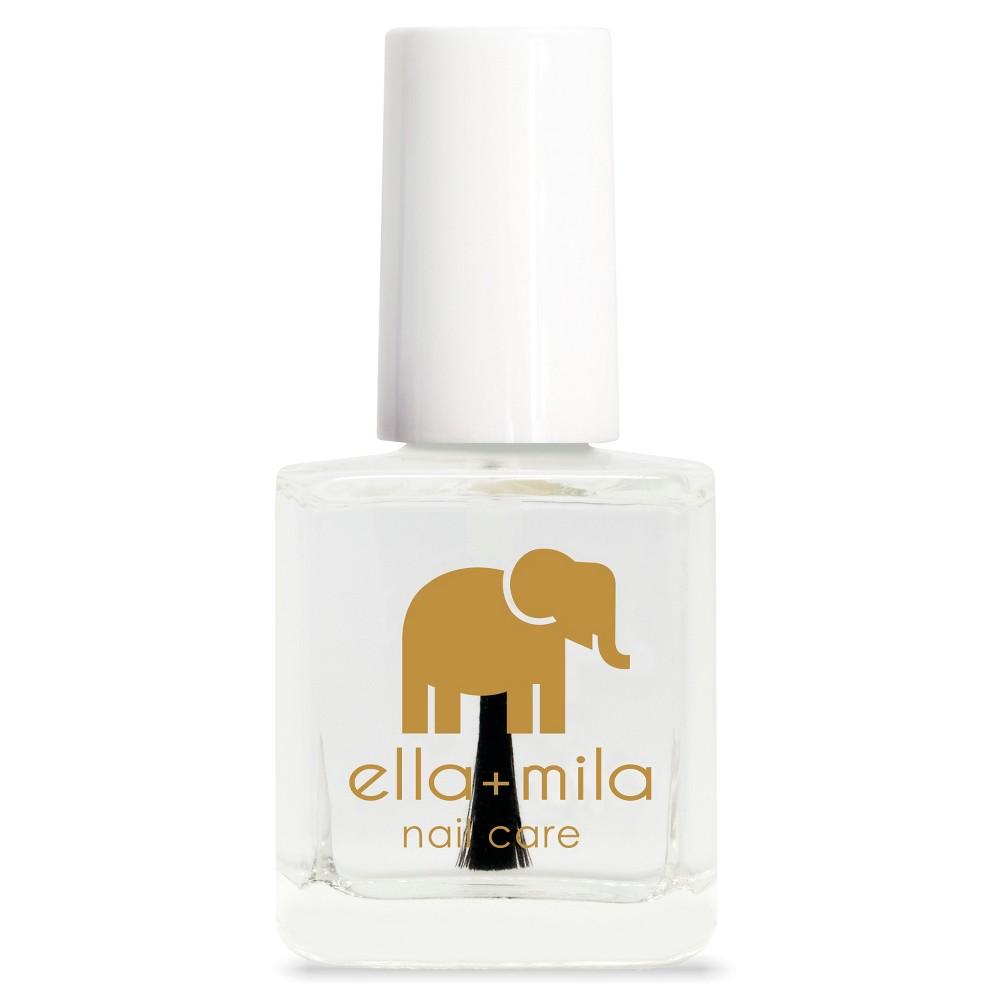 Ella + Mila Nail Care Quick Dry Top Coat- In a Rush - 0.45 fl oz, Clear