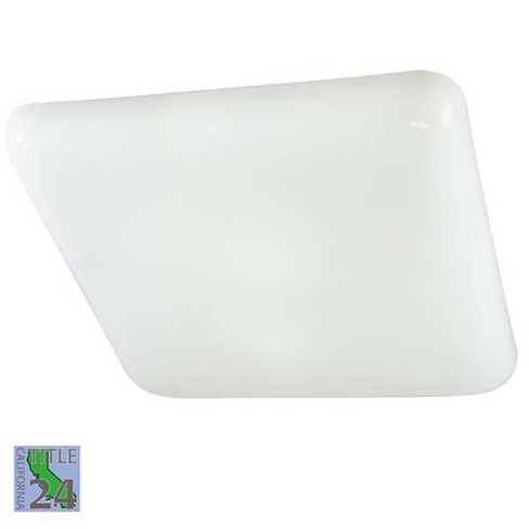 Minka Lavery 1022-PL 2 Light Down Lighting Flush Mount Ceiling Fixture from the Kitchen Fluorescent Collection - image 1 of 1