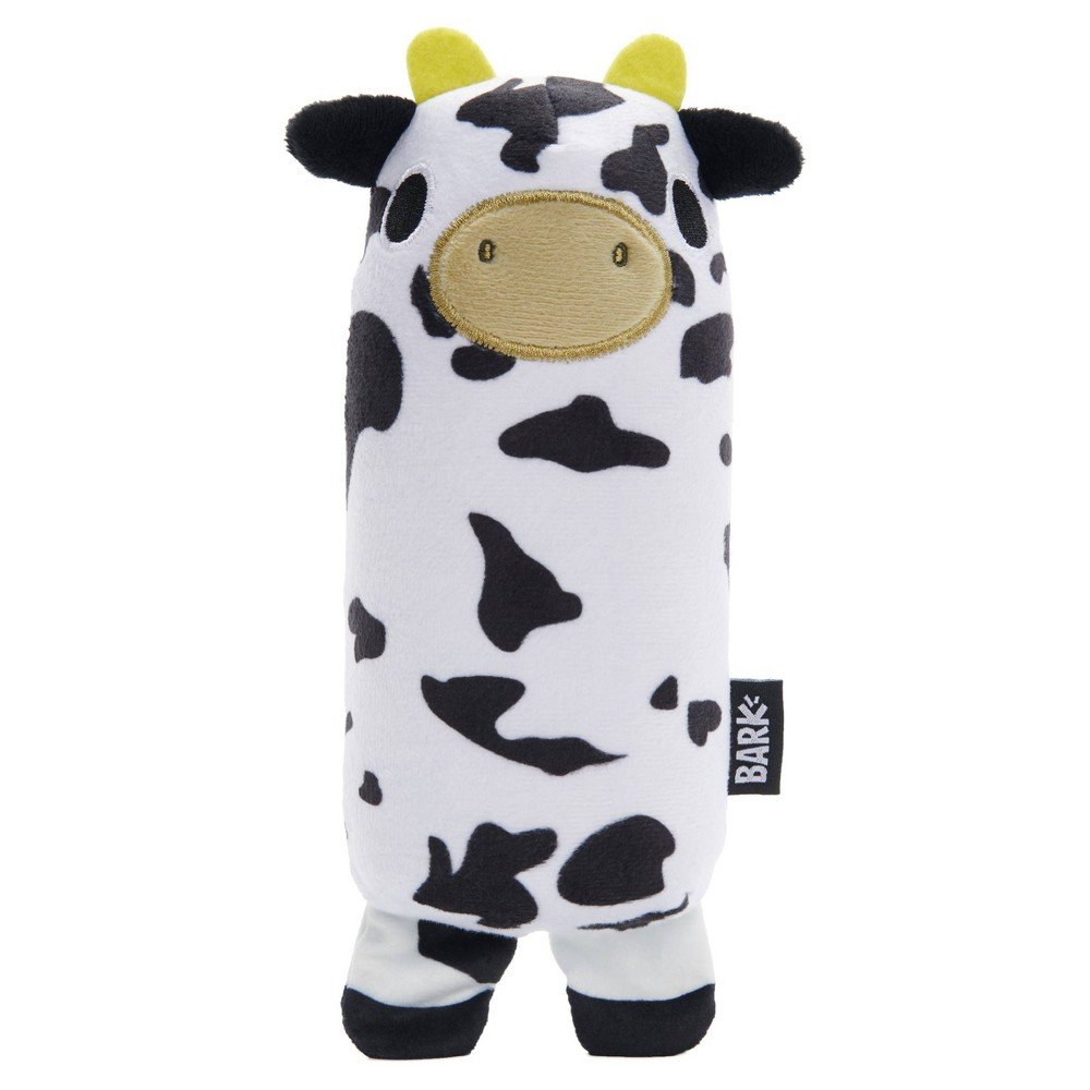 Bark Super Chewer Cow Dog Toy Mad Cow