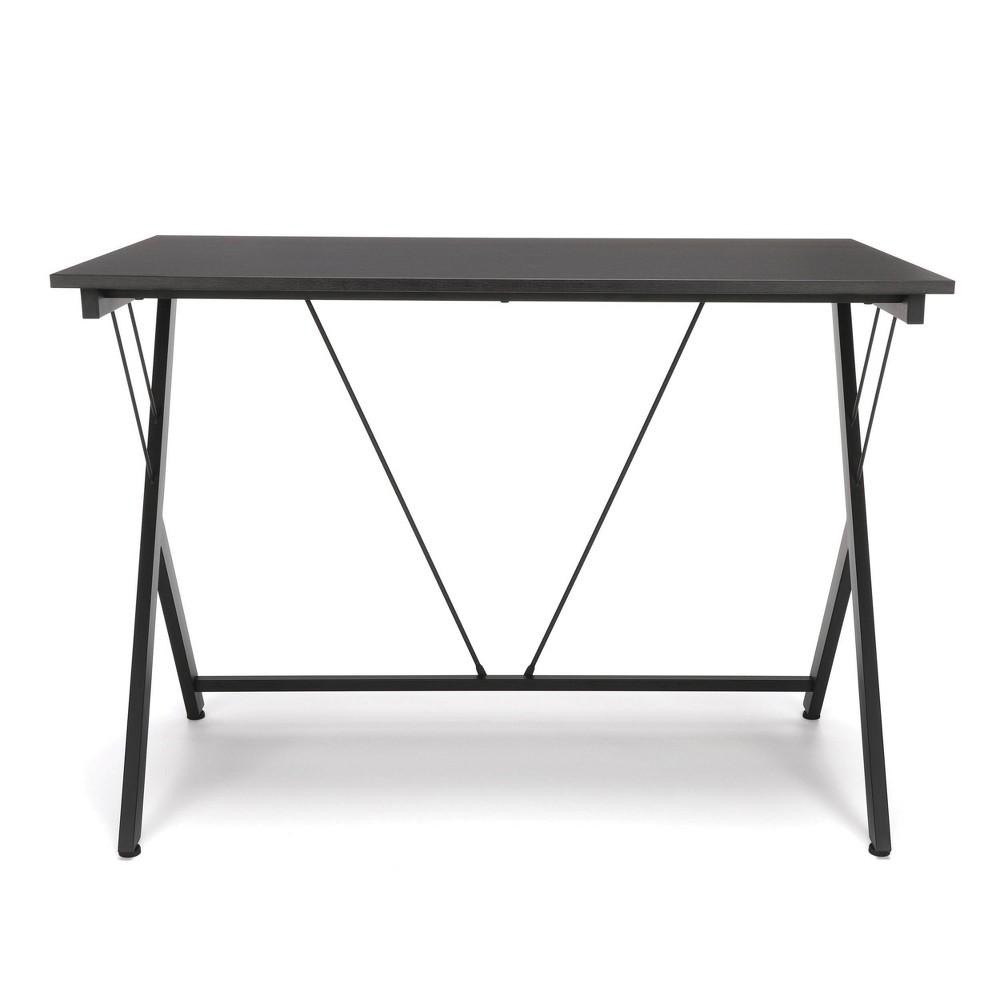 Image of 42 Y - Shaped Metal Leg Computer Desk Black - Ofm