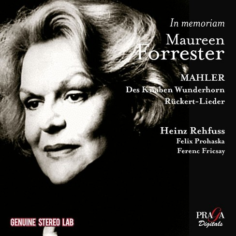 Heinz Rehfuss - Mahler:In Memoriam Maureen Forrester (CD) - image 1 of 1