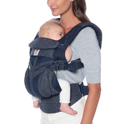 Ergobaby Omni 360 Cool Air Mesh Baby Carrier - Blue Tweed
