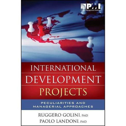 International Development Projects - by  Ruggero Golini & Paolo Landoni (Paperback) - image 1 of 1
