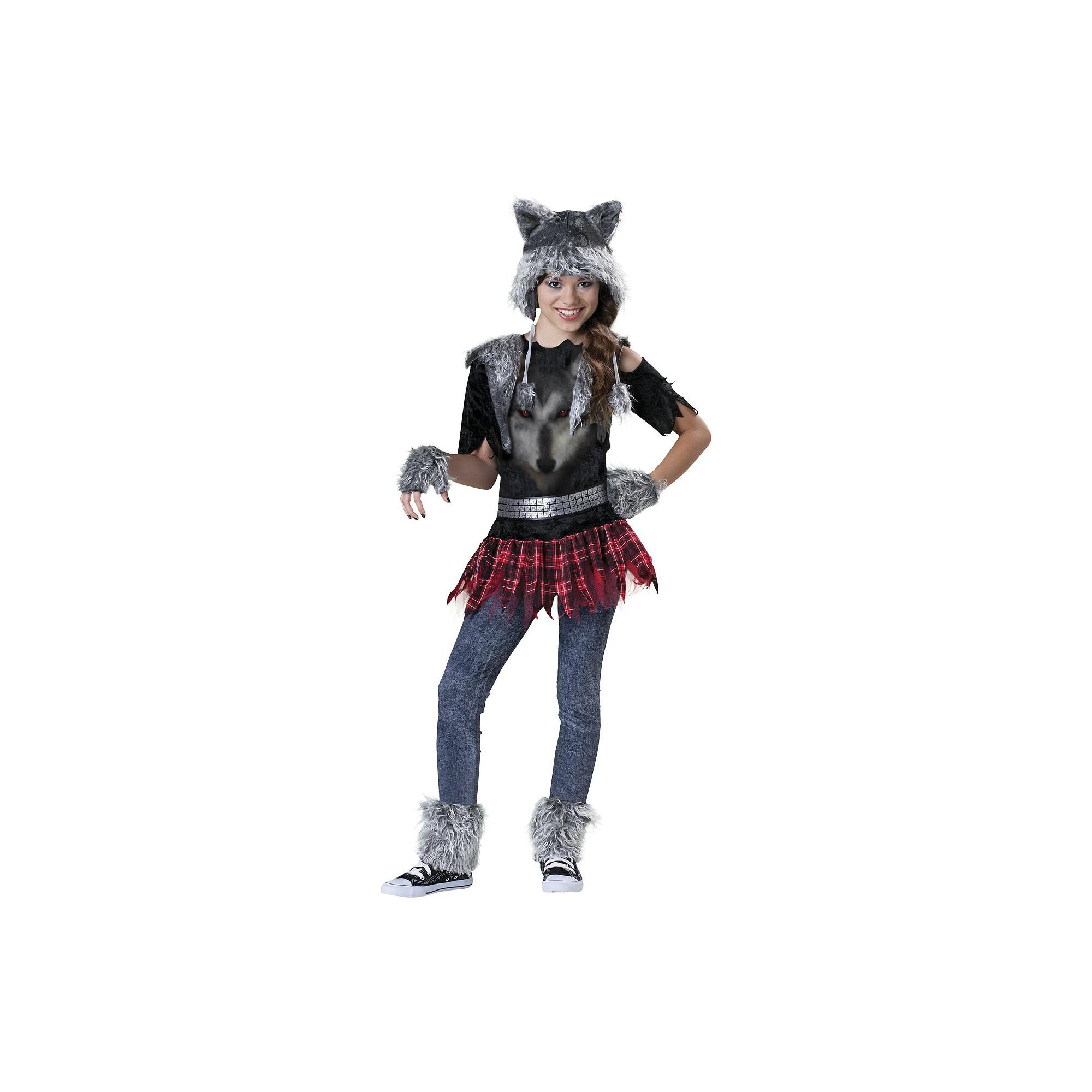 Halloween Girls' Wear Wolf Costume Medium (7-8), Girl's, Size: Medium(7-8)