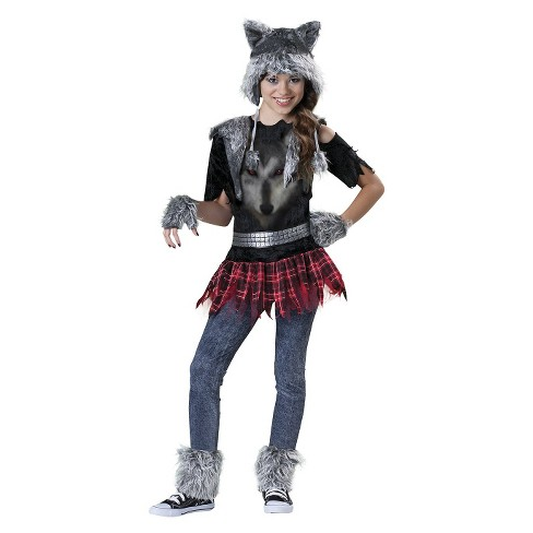 girls wear wolf costume target
