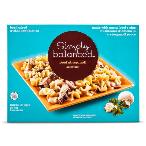 Beef Stroganoff Frozen Meal - 9oz - Simply Balanced™ - image 1 of 1