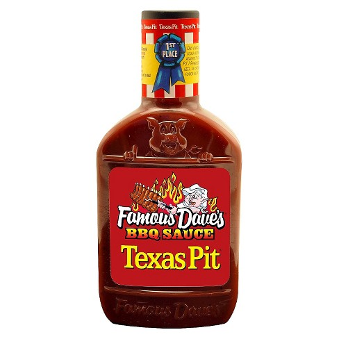 Famous Dave's Texas Pit Barbeque Sauce - 19oz - image 1 of 3