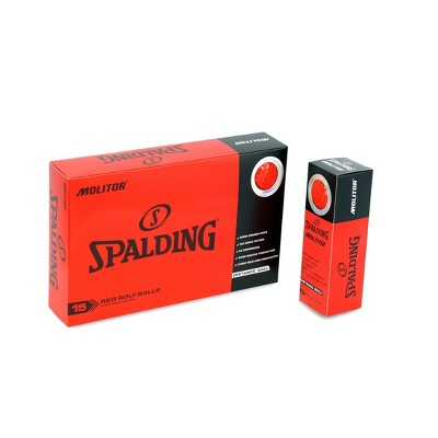 Spalding Molitor Golf Balls 30pc - Red
