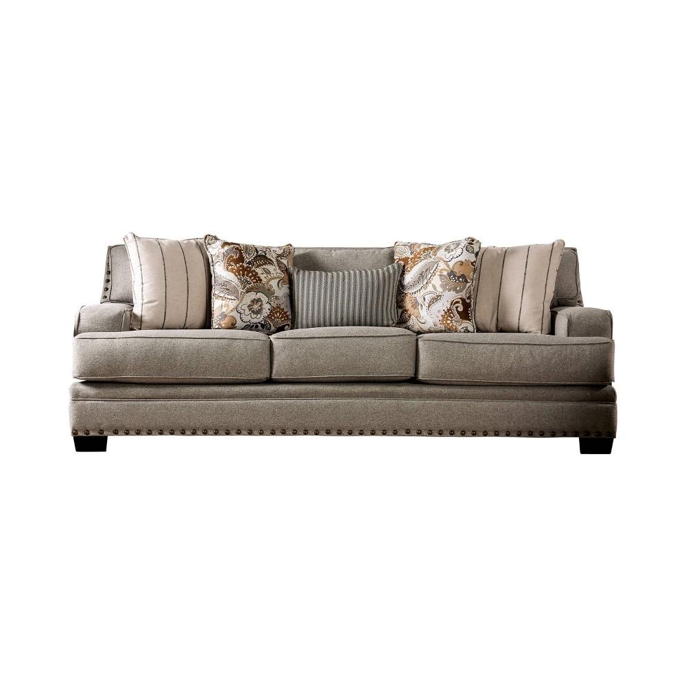 Sedona T Cushion Sofa Mocha (Brown) - miBasics