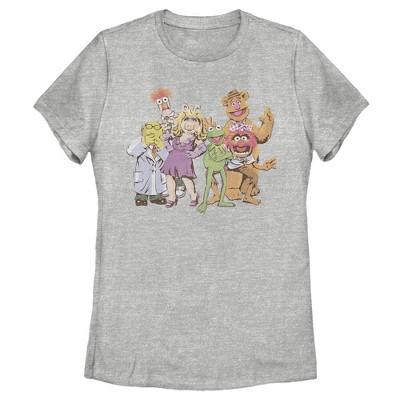 Women's Disney Muppets Group Shot T-Shirt